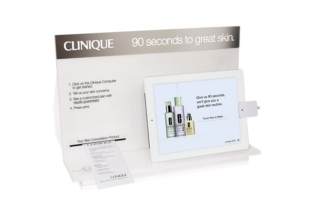 Clinique Apple iPad 2 Skin Diagnostic