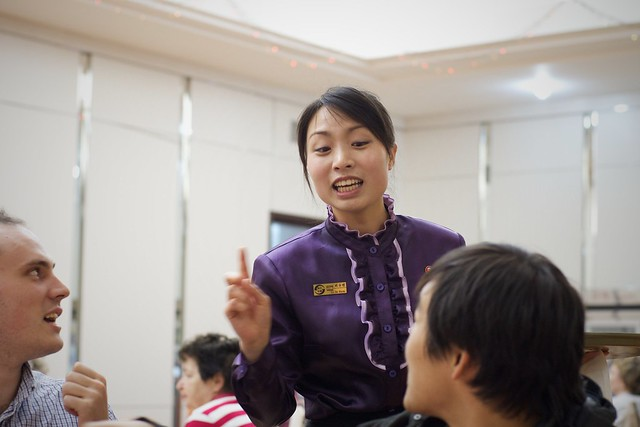 Nampo DPRK Waitress