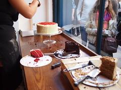 Cake display, Kahaila, Brick Lane