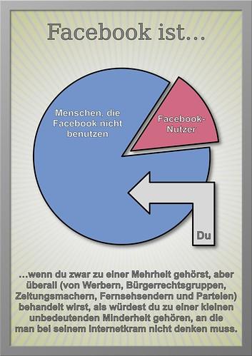 Facebook ist… by Elias Schwerdtfeger