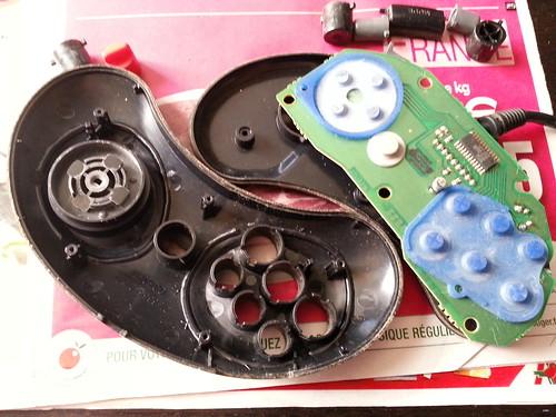 Pad Megadrive 6 boutons - open