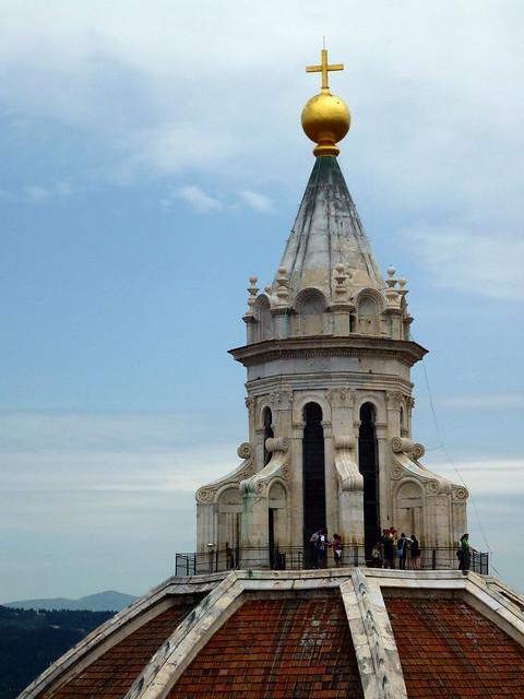 Florence - jour 2 - 047 - Vue du Campanile de Giotto