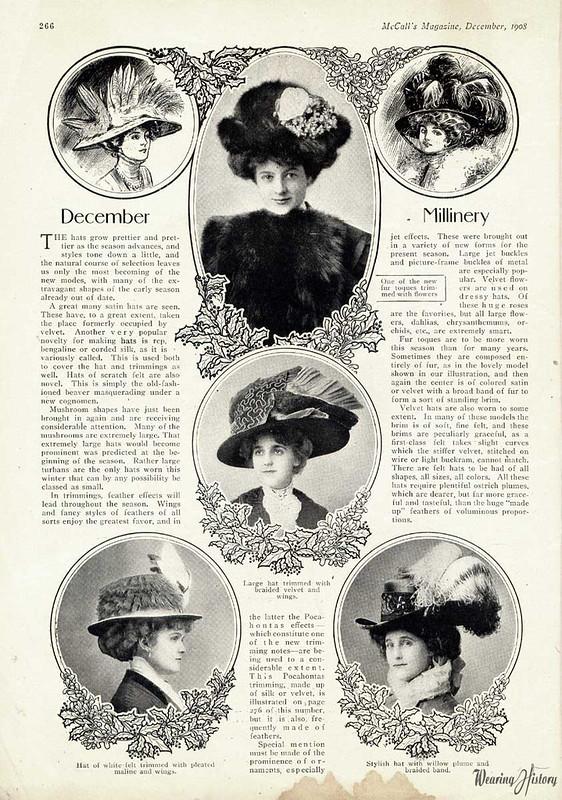 december millinery 1908