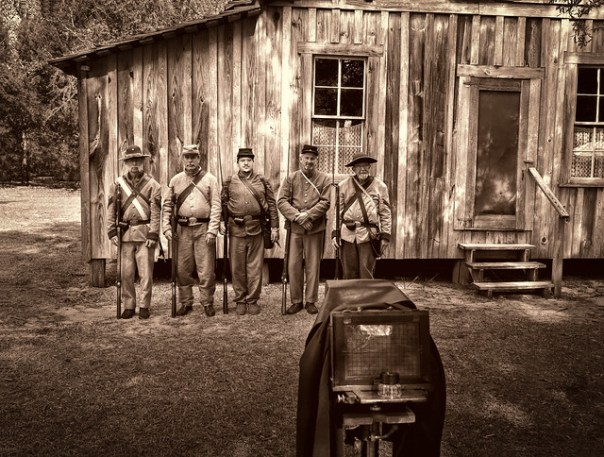 Civil War group portrait