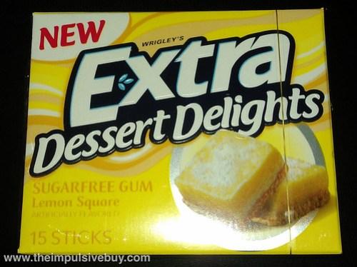 Extra Dessert Delight Lemon Square