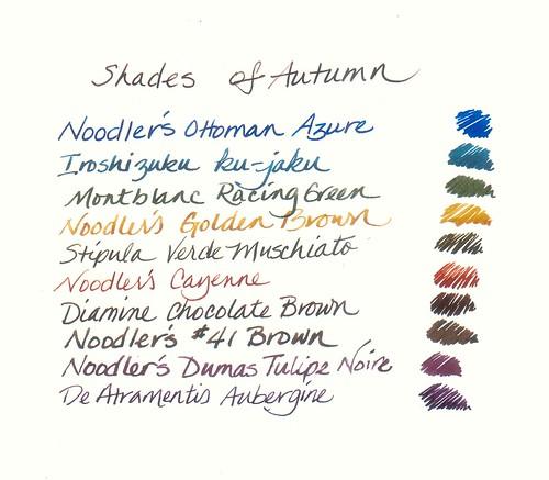 Autumn Inks