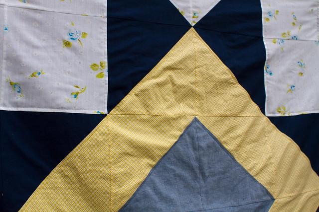 ohio star picnic quilt