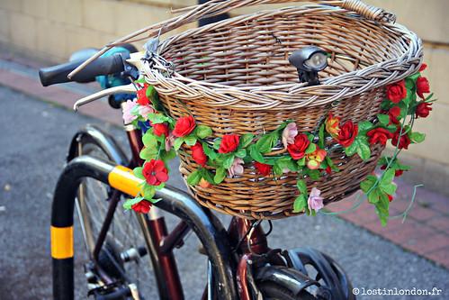 flowery bike