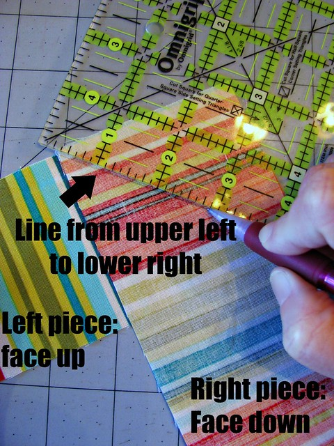How to Bind a Quilt, Making Binding 1