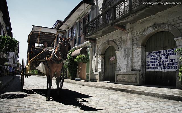 Kalesa in Calle Crisologo Vigan Ilocos Sur