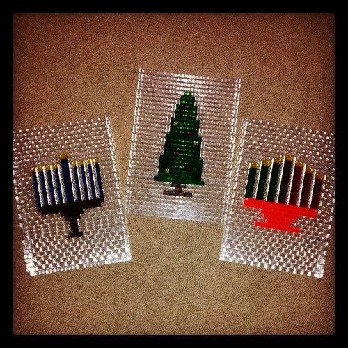 Designed these for the #LEGO Store in Nyack... Just in time for the holidays! by brickplate