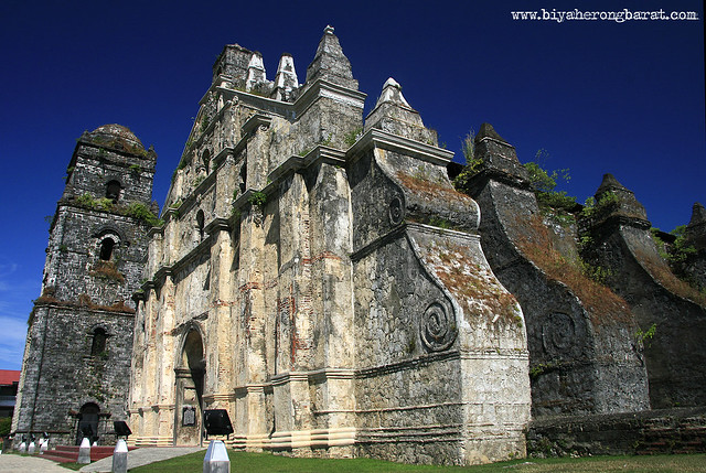 fortifications of Paoay Church Ilocos Norte