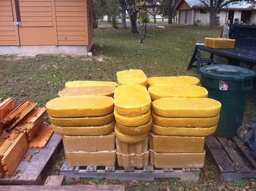 More beeswax