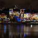 Fête des Lumières 2012 - Quai de Saône
