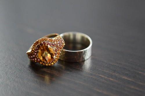 Vintage and Custom Wedding Rings
