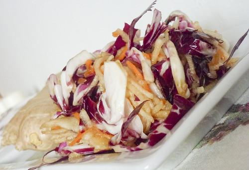 Mixed salad with ginger - Insalata mista con zenzero