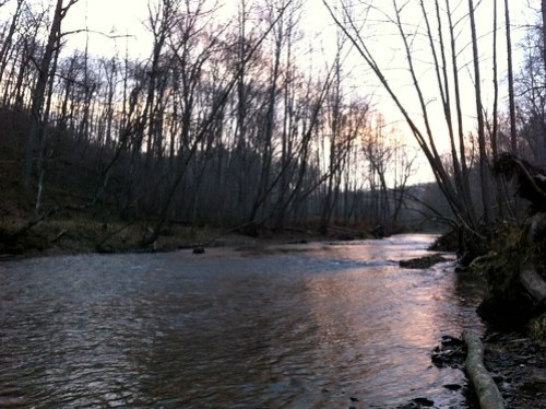 Flyfishing the Gunpowder River in Maryland