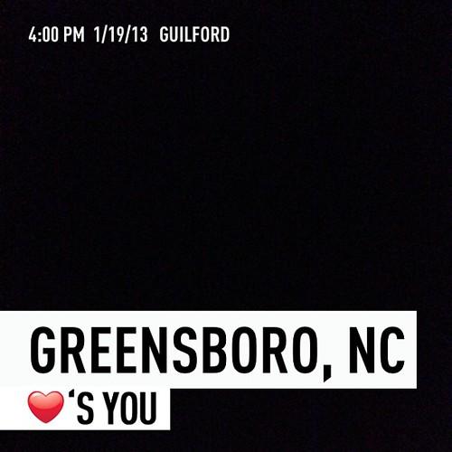 Greensboro, NC ❤'s You by Greensboro NC
