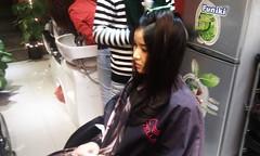 Thực hành sấy tóc lá bám cúp Hair salon Korigami 0915804875 (www.korigami (1)