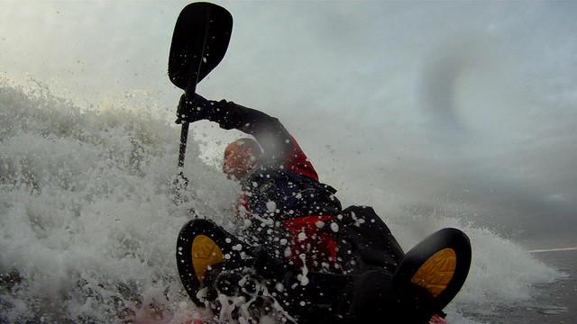 Rest Bay, Surf Kayaking