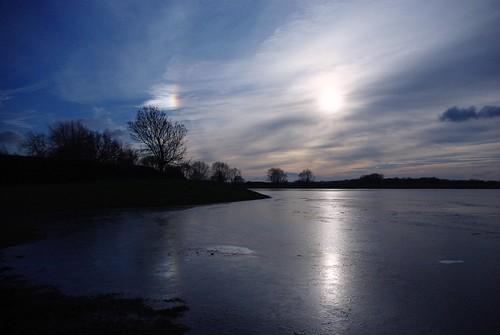 20130113-01_Frozen Flood Waters Braunston by gary.hadden