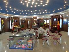 Dentro do Museu da Paz em Teerao