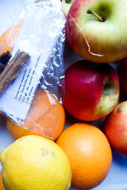 Paniers semaine 51 - Fruits / Baskets Week 51 - Fruits