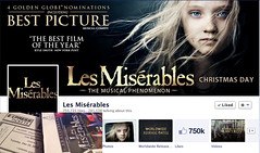 2012 #LesMis Christmas Eve composite