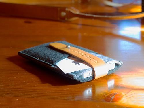 Mujjo iPhone 5 Wallet