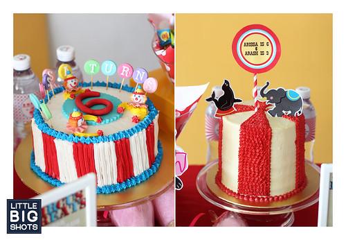 Arissa & Arash Circus Birthday Party