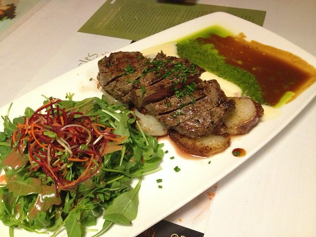 New York cut steak - Sansei Seafood Restaurant
