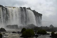 Misty Iguazu Falls