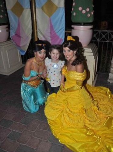 meeting Jasmine and Belle