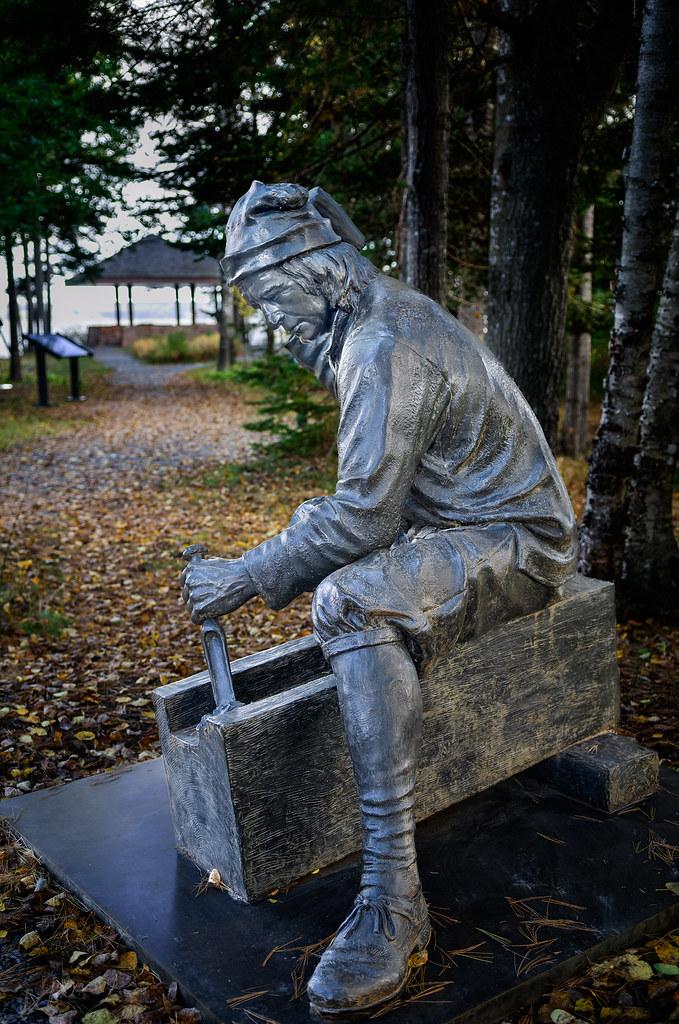 Tin Man, at Saint Croix Island, Maine