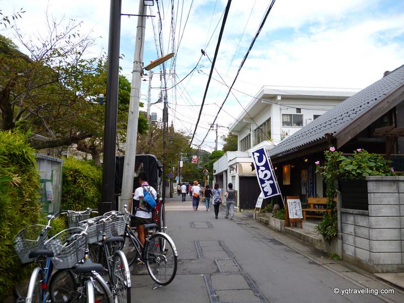 Random cute street at Kamakura