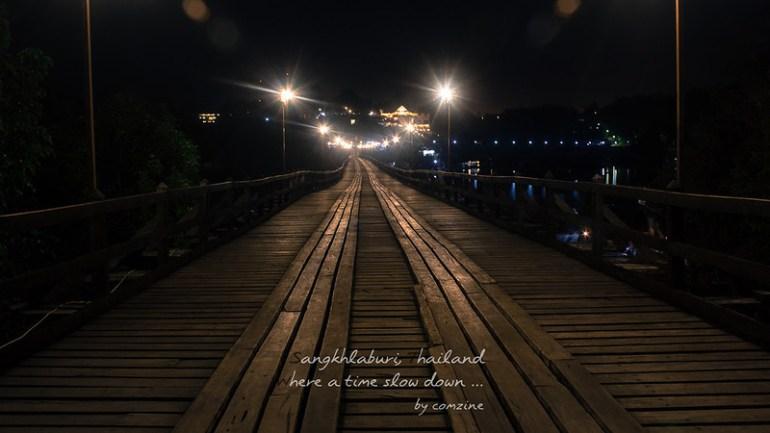 สะพานมอญ เปิดไฟ3 - สังขละบุรี