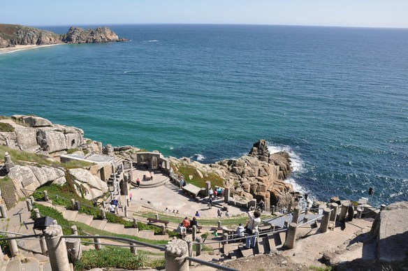 top UK beaches Minack Theater