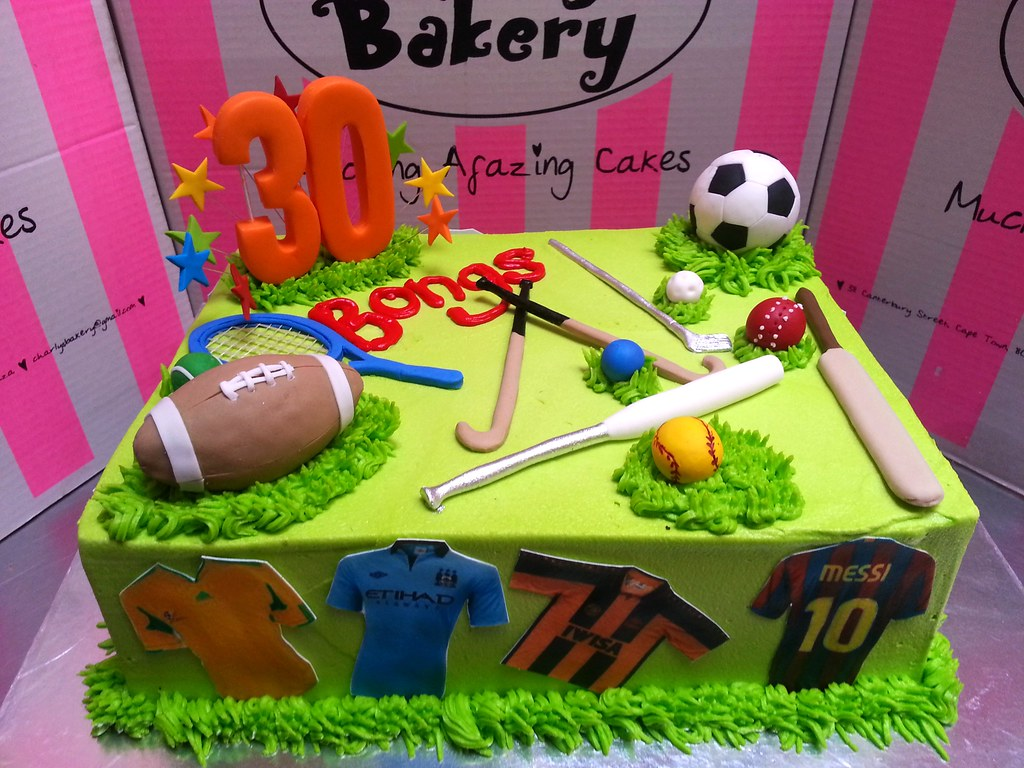Sport Hockey Soccer Cakes Ideas