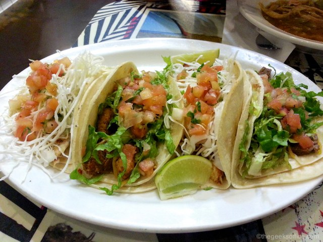Fish Tacos at Wahoos