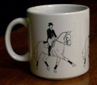 One of my horse mugs.