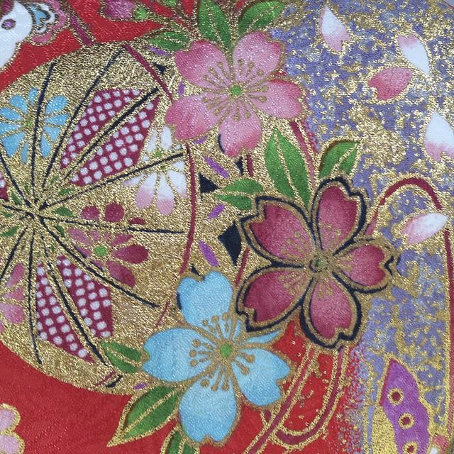Ichimatsu doll - kimono
