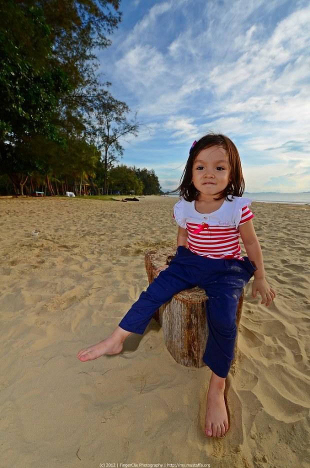 Hannah | Pantai Tanjung Aru, Sabah