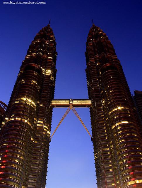 Petronas Twin Towers of Kuala Lumpur Malaysia
