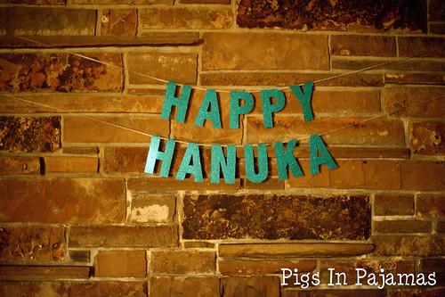Happy Hanuka bunting