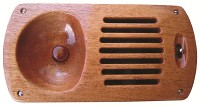 Wooden electric vent 200
