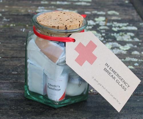 first aid jar