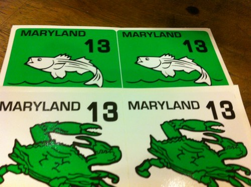 2013 Bay Sport Pleasure Boat and Crabbing Stickers
