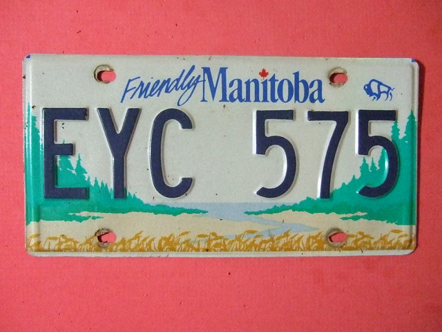 Manitoba to Offer French Licence Plates