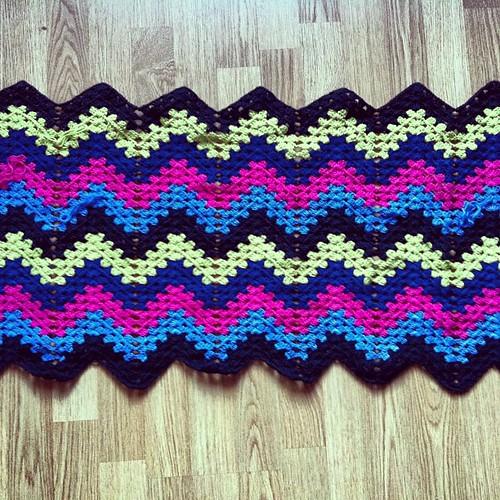 #wip #crochet #blanket for Sumarrós