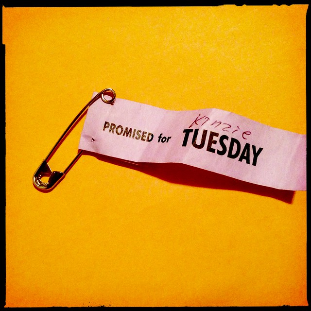 Promised For Tuesday